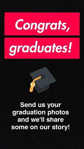 Congrats, graduates!