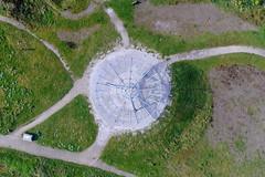 Haslingden Halo (North Ports) Tags: haslingden halo rossendale rawtenstall lancashire panopticon monument aerial dji phantom
