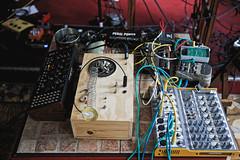 Setup (M.A.K.T. Sono) (Aurélien Digard) Tags: egocideproductions maktsono magalialbespy kecaptuyul experimental noise improvisation moog armony montreuil paris