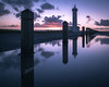 Lighthouse of Le Hourdel (AzurInspire) Tags: azurinspire france lehourdel omd olympusinspire lighthouse sunrise reflection long exposure sky clouds magenta water cost light morning dawn olympus em10mk2 714