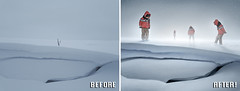 Before After - Snow - Ben Heine Photography (Ben Heine) Tags: beforeafter benheinephotography photography nature landscape before after photoediting editing retouching photoretouching objectremoval colorcorrection photocorrection composition restoration photorestoration masking clippingpath clipping mattepainting retouche retouchephoto photographie foto fotografie
