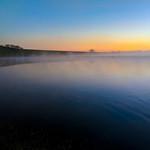 foggy morning at the Elbe thumbnail