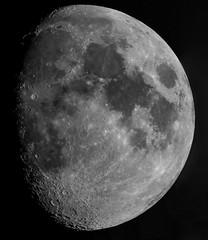 The Moon, 25th April 2018 (ukmjk) Tags: 4k moon video stacking