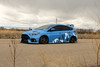 Ford Focus RS on TSW Mosport concave wheels - 4 (tswalloywheels1) Tags: bagged air suspension camo wrap blue ford focus rs mk3 tsw mosport concave aftermarket wheel wheels rim rims alloy alloys