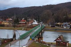 The River San, Sanok, Poland 30/01/2018 (Gary S. Crutchley) Tags: sanok southern south poland polski history heritage east eastern europe travel olympus epl1 river san