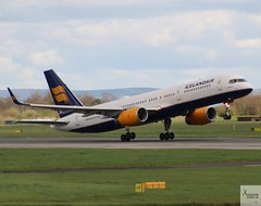 Icelandair B757-223 TF-ISY taking off at MAN/EGCC (AviationEagle32) Tags: man manchester manchesterairport manchesteravp manchesterairportatc manchesterairportt1 manchesterairportt2 manchesterairportt3 manchesterairportviewingpark egcc cheshire ringway runway ringwayairport runwayvisitorpark runway23r unitedkingdom uk airport aircraft airplanes apron aviation aeroplanes avp aviationphotography avgeek aviationlovers aviationgeek aeroplane airplane planespotting p planes plane flying flickraviation flight vehicle tarmac icelandair boeing boeing757 b757 b757200 b757w b757200w b752 757 b757223 tfisy takeoff departure
