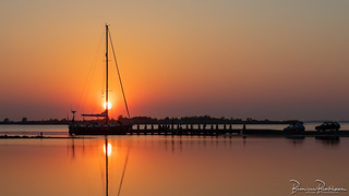 Sunset Slikken van Flakkee