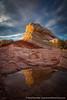 White Pocket Bliss (David Swindler (ActionPhotoTours.com)) Tags: arizona reflection southwest utah whitepocket clouds desert swirl