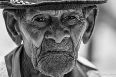 Cuban soul (karmajigme) Tags: cuba man cuban human old portrait monochrome blackandwhite noiretblanc travel head nikon
