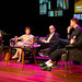 Literary talkshow with authors Nicci Gerard and Sean French and their editor A.J.Finn at Natlab by PlazaFutura