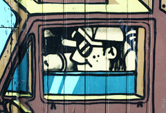 Baby you can drive my car (PTR) Tags: belgium hasselt streetstuff streetart graffiti driver car canon ptr