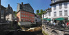 Monschau (Julysha) Tags: monschau germany spring town architecture 2009 d700 nikkor247028 river cafe terras cnx2 may ruhr panorama