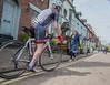 Street Scene Bewdley (tramsteer) Tags: transport cycle cyclist pedestrian bewdley worcester riversevern helmet people street pinarello kidderminster