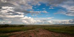 Arrived in the Masai Mara (Markus Jaschke) Tags: kenia fuji masaimara 1855 fujixe3 himmel clouds sky safariafrikakeniamaramasai