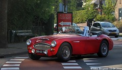 Austin-Healey 3000 Mark III 1966 (XBXG) Tags: dh4338 austinhealey 3000 mark iii 1966 austinhealey3000 austin healey cabriolet cabrio convertible roadster tourer red rood rouge overveen nederland holland netherlands paysbas vintage old classic british car auto automobile voiture ancienne anglaise uk vehicle outdoor