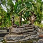 Bronze sculpture in the Garden of the Gods in Muang Boran in Samut Phrakan near Bangkok, Thailand thumbnail