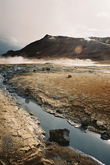 Iceland Adventures ! (Hëllø i'm Wild) Tags: analog film 35mm canonae1 fujisuperia400iso iceland adventures travel trip nature outdoor hike hverir solfataras