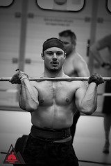 "Crossborder throwdown2018 - 19b (david ""Djannis"") Tags: white black noir blanc blancetnoir blackwhite intérieur athletic sportive sportif sport crossfit monochrome"