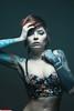 Becky (VK3Photographix) Tags: portrait female feminine beauty tattoos pose studio photoshoot detroit glamour hair