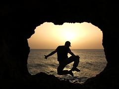 Ode to Joy (yekbunteke) Tags: sunset tanger grottes grottesdhercule panasoniclumix