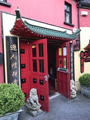 Welcome Chinese Restaurant - Mallow, County Cork. (firehouse.ie) Tags: eatery building premises colourful colors architecture entry doorway doors entrance curryhouse asian ireland countycork mallow dining food cuisine chinese restaurants restaurant irelandrep irelands
