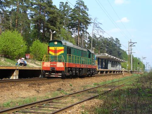RZD ChME3-2828, Yaroslavskoe direction, Ivanteevka-2
