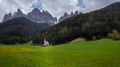 Chiesetta di San Giovanni (802701) Tags: 2018 201805 dolomites europe italia italy may2018 landscape mountains nature scenery travel chiesettadisangiovanni funes church religion building religious