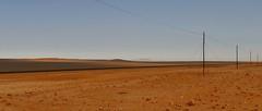 endlose Weite (marionkaminski) Tags: namibia südafrika southafrica wüste desert desierto landschaft landscape paysage paisaje désert lüderitz sand panasonic lumix1000