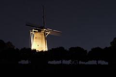 Stadsmolen Hulst (Luciën Reyns) Tags: stadsmolen pentaxhddfa2470mm pentaxk1 stellingmolen 1792 hulst oostzeeuwsvlaanderen zeeuwsvlaanderen