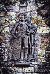 The forgotten knight (joern_ribu) Tags: wachenburg weinheim historic relief mauer wall knight old mittelalter medieval ritter burg castle