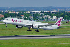 Second Airbus A350-1000 for Qatar Airways (David B. - just passed the 5 million views. Thanks) Tags: sony fe100400mm sonyfe100400mmf4556gmoss a6000 ilce6000 sonya6000 sonyilce6000 toulouse hautegaronne midipyrénées occitanie france blagnac airport aircraft airbus air airplane plane flight runway 102 msn102 a350xwb a350 a3501000 airbusa350xwb airbusa350 airbusa3501000 fwzfy a7anb qatar qatarairways
