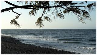 Salish Sea from Cluxewe Resort - 1 (of 3) -  Sony DSC-HX300