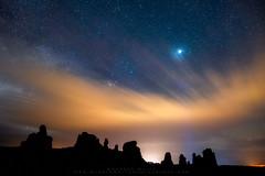 Jupiter's Flight (Darren White Photography) Tags: nightphotography jupiter starrynights clouds darrenwhite sigma lens