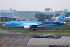 PH-OYI, Amsterdam Schiphol, October 19th 2015 (Southsea_Matt) Tags: phoyi boeing 767304er tui arke october 2015 autumn schiphol ams eham amsterdam holland thenetherlands canon 60d aircraft plane aviation airport transport
