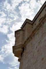 Corner With A View [Vittoriosa - 26 April 2018] (Doc. Ing.) Tags: 2018 malta birgu vittoriosa fort fortstangelo stone building architecture
