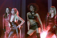 2483369DH362_DaveHogan (dp3061971) Tags: celebrity stage spice girls smile mtv microphone leather outfit half length entertainment dancing stockholm sweden