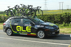Cipollini Team Car (Steve Dawson.) Tags: tourdeyorkshire bike race roads tdy peloton uci cycling womens teams car skidby yorkshire england uk canoneos50d canon eos 50d ef28135mmf3556isusm ef28135mm f3556 is usm stage1 beverleytodoncaster