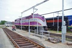 acle6c (Fan-T) Tags: acl e6 champin purple atlantic coast line spencer north carolina museum emd streamlner