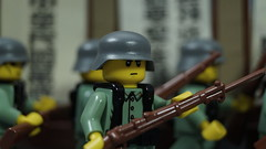 Shanghai 1937 (Force Movies Productions) Tags: war weapons wwii world wars lego eastern helmet rifles rifle toy toys trooper troopers troops troop youtube ii conflict officer soldier pose cool movie soldiers moc photograpgh photo picture photograph photography animation asia army asian arts stopmotion scene sinojapanese firearms film guns history kmt kuomintang legophotograghy legophotography custom china chinese chaing kai shek bricks brickfilm brickarms brickizimo brick nation nationalist minfig minifig military minifigure minifigs militia