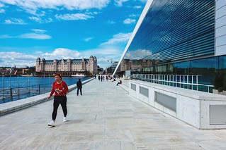 The opera and Oslo Havnelager