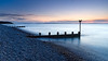 High Tide at the Back Shore (Stoates-Findhorn) Tags: 2018 findhorn scotland sunset firth twilight le moray groyne dusk backshore sea unitedkingdom gb