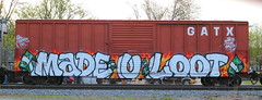 Made U Loot, Adams, Neenah, 12 May 18 (kkaf) Tags: neenah adams madeuloot tagged
