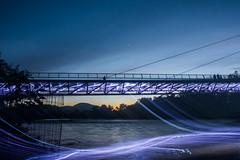 Sundial Bridge Weird Light (kgtriolo) Tags: sundialbridge bridge