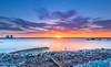 Hythe (nicklucas2) Tags: seascape sun sunrise marina southampton water cloud flare hythe