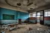 .. (LaR0b) Tags: ue urban urbex exploration exploring decay abandoned lar0b lost hdr highdynamicrange school class classroom education teaching blackboard escolier
