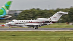 Air X Charter Cessna 750 Citation X D-BEEP (benji1867) Tags: air x charter cessna 750 citation dbeep bru brussels ebbr zavantem melsbroek pan panning slow shutter avgeek avporn aviation jet biz bizz bizjet business fly flight flying landing equatorial congo airlines ecair privatair