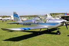 G-SHMI (GH@BHD) Tags: gshmi evektor evektoraerotechnik ev97 eurostar teameurostar microlight pophammicrolighttradefair2018 pophamairfield popham aircraft aviation