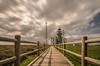 Camino del faro. (Amparo Hervella) Tags: farodecabopeñas cabopeñas asturias españa spain paisaje nube faro color largaexposición d7000 nikon nikond7000