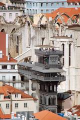 Elevador de Santa Justa (H&T PhotoWalks) Tags: elevator santajusta lisboa lisbon portugal publictransport eiffel canoneos400d sigma18250 tan vii