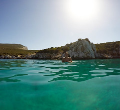GOPR8668 (urbanlifelens) Tags: mare sea seascape alghero alguer sardegna sardinia underwater fishes pesci seastar stellamarina coast costa sky cielo sun sole